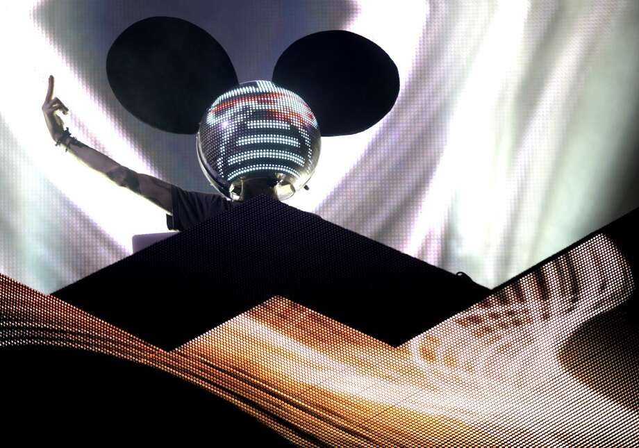 "EDM star Deadmau5 is bringing his next ""cube"" tour to Seattle this winter. Photo: Tim Mosenfelder, Getty Images"