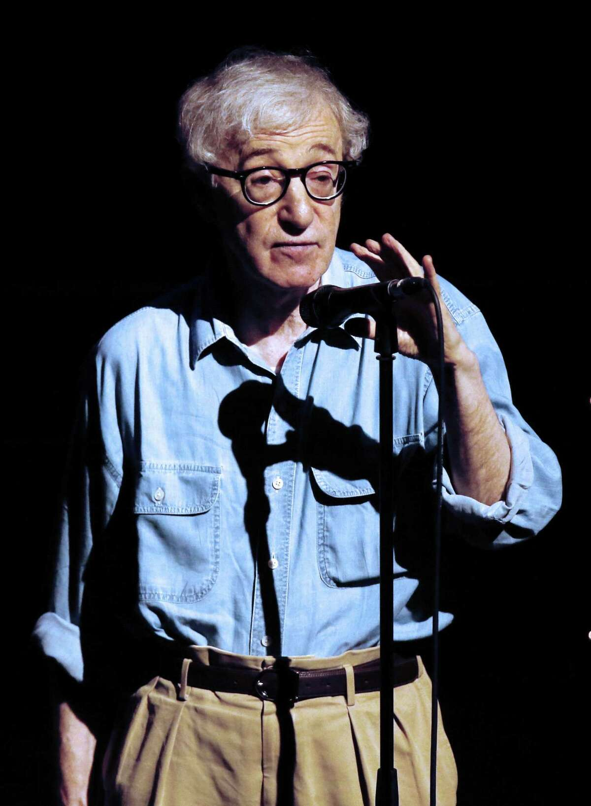 Director Woody Allen returns to darker themes in his latest film, a family drama.