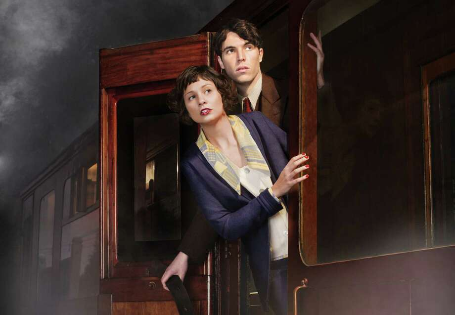 "Iris Carr (Tuppence Middleton) fears a kidnapping, and Max (Tom Hughes) wants to believe her in the BBC adaptation of ""The Lady Vanishes."""