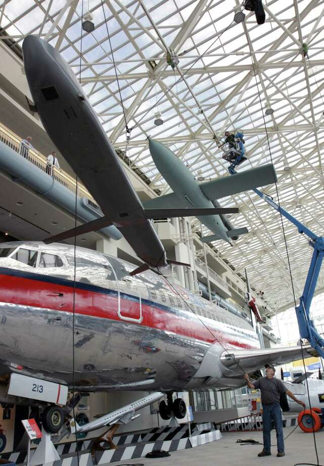 Boeing built the Museum of Flight's ALCM in Kent, Wash. During its operational  life, it was often loaded onto readied aircraft, but never used in  combat. The museum has not previously displayed the missile. Photo: Ted Huetter / The Museum of Flight, Seattle
