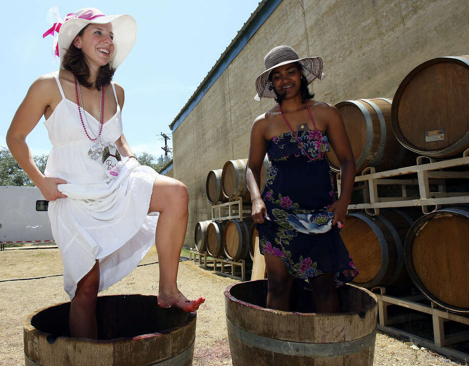 Look for grape stomps and other events on the Texas Hill Country Wineries website. Photo: Express-News File Photo
