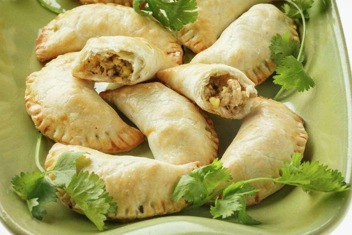 THE BEST HATCH RECIPES Hatch Pepper Pork Empanadas Recipe via Central Market