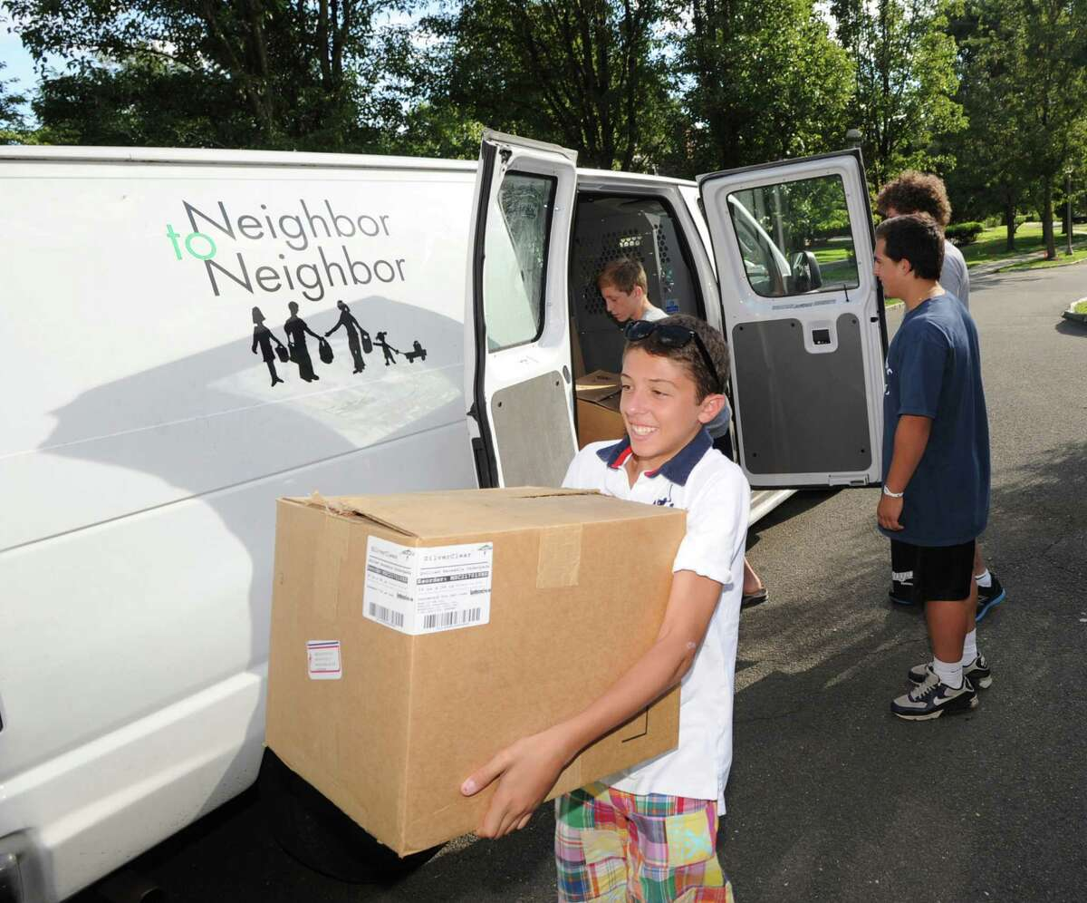 Neighbor to Neighbor, located at 248 East Putnam Avenue in Greenwich, is a community service organization that distributes clothing, food, and household items to people in need.