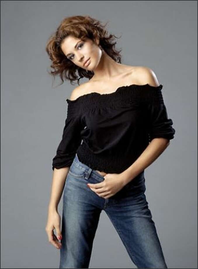 Sara Racey-Tabrizi of Seattle competed on America's Next Top Model in 2004 during its second cycle. Photo: Courtesy Photo