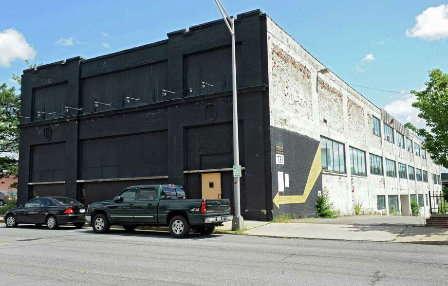 Exterior of 733 Broadway on Thursday, Aug. 15, 2013 in Albany, N.Y. The city's IDA is expected to vote today on a proposed 40-year tax break, likely the longest in its history, for an as-yet unbuilt 70-unit apartment building proposed by Norstar Development.  (Lori Van Buren / Times Union) Photo: Lori Van Buren / 00023536A