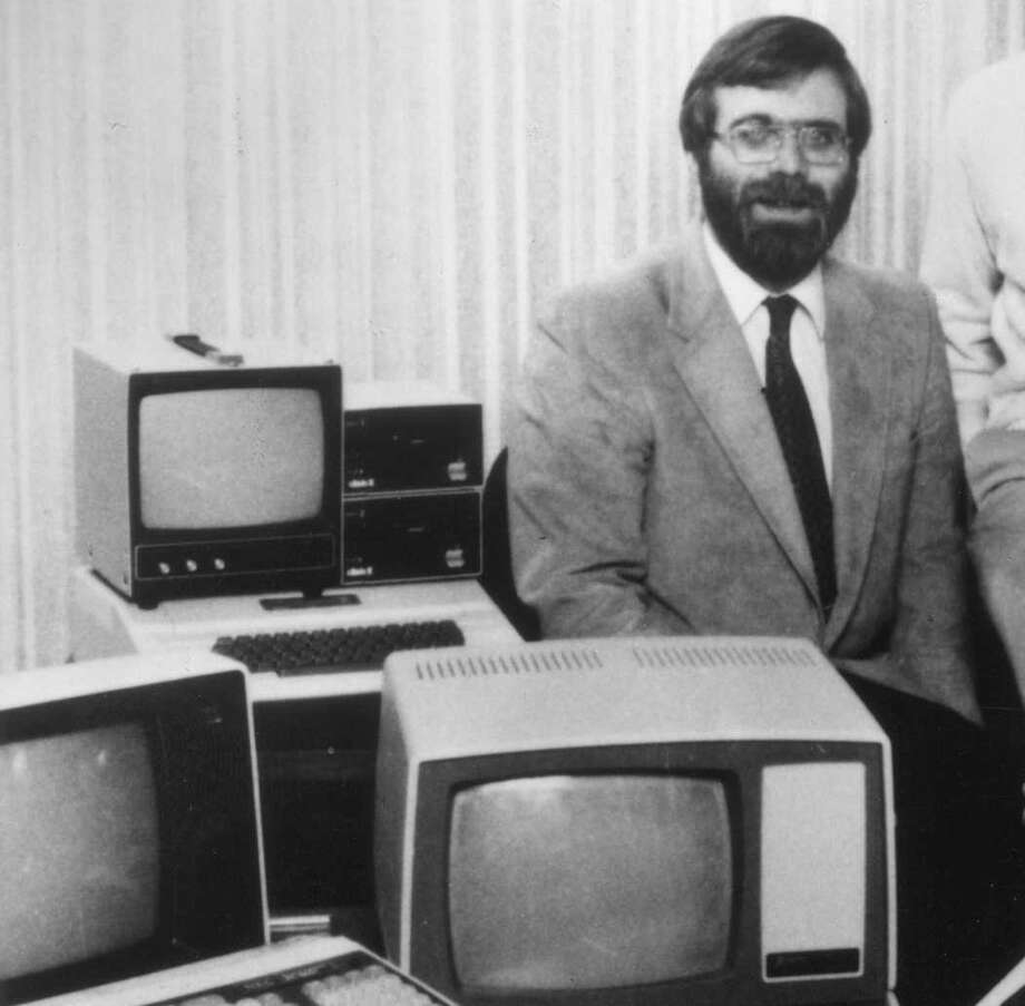 Speaking of second fiddles, here's the other half of that old photo of Bill Gates we included earlier, this time showing Microsoft co-founder Paul Allen. Photo: IMAGE COURTESY MICROSOFT., IMAGE COURTESY MICROSOFT.
