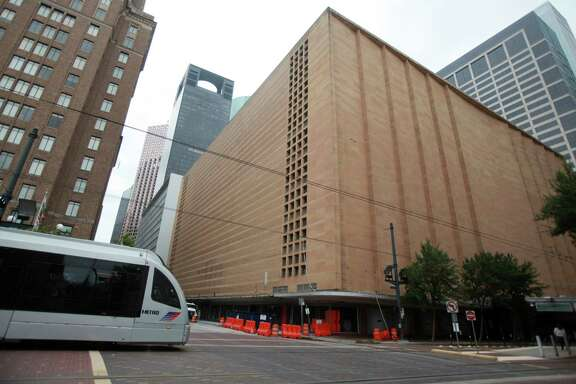 The downtown Macy's - and former Foley's - is scheduled for implosion at ten minutes after sunrise on Sunday, Sept. 22.