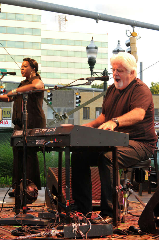 Michael McDonald performs during the Alive@Five concert series at Columbus Park in Stamford on Thursday, Aug. 15, 2013. Hearst Connecticut Newspapers are one of the sponsors of the event. Photo: Jason Rearick / Stamford Advocate