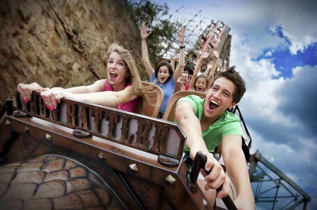 At Six Flags Fiesta Texas, the Iron Rattler roller coaster is up and running again after it was closed for precautionary reasons following a woman's death last month on a similar ride at Six Flags Over Texas in Arlington.