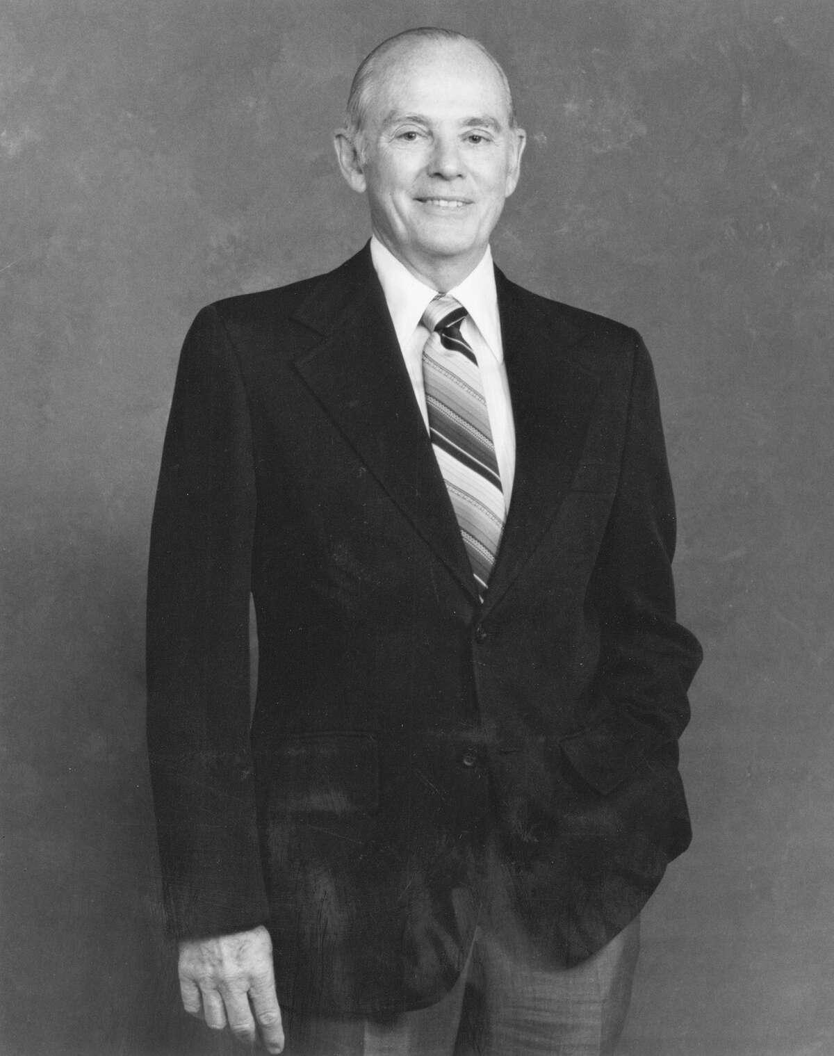 Dr. Frank Harrison handled the task of uniting medical, nursing and dental schools.