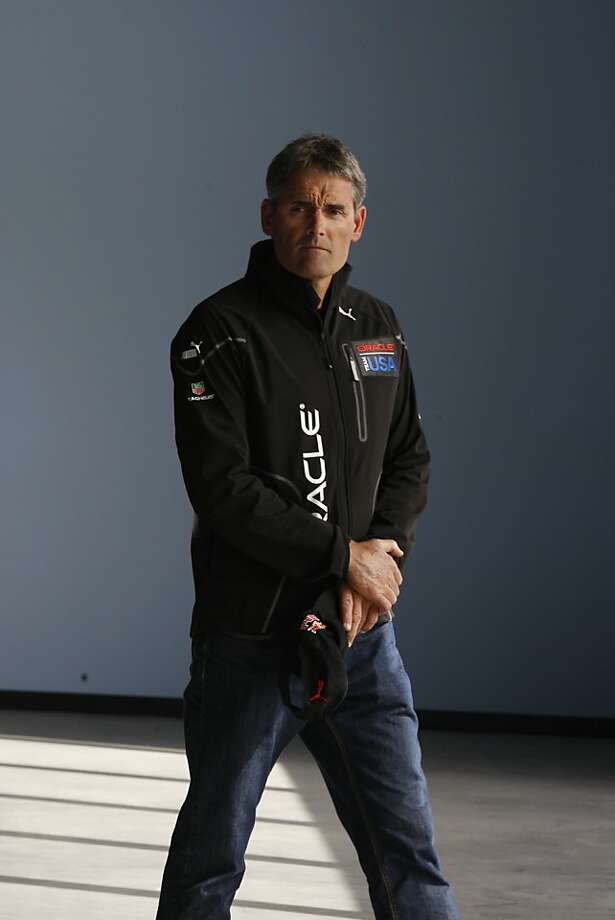 "Oracle Team USA CEO Russell Coutts said the penalties are ""outrageous."" Photo: Liz Hafalia, The Chronicle"