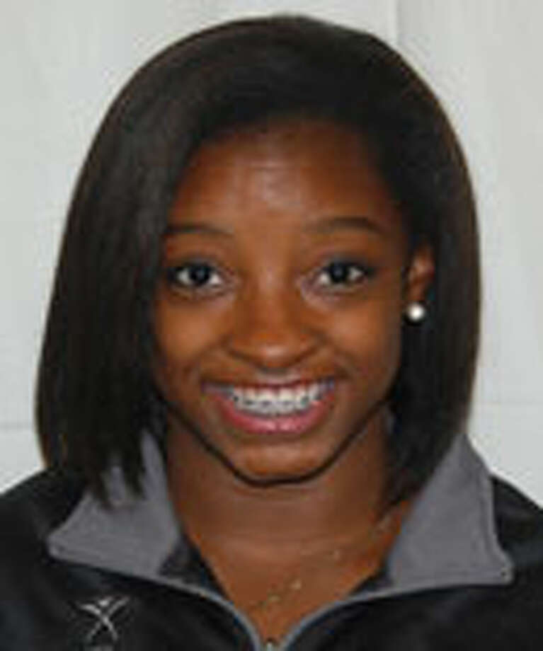 Gymnast Simone Biles of Spring
