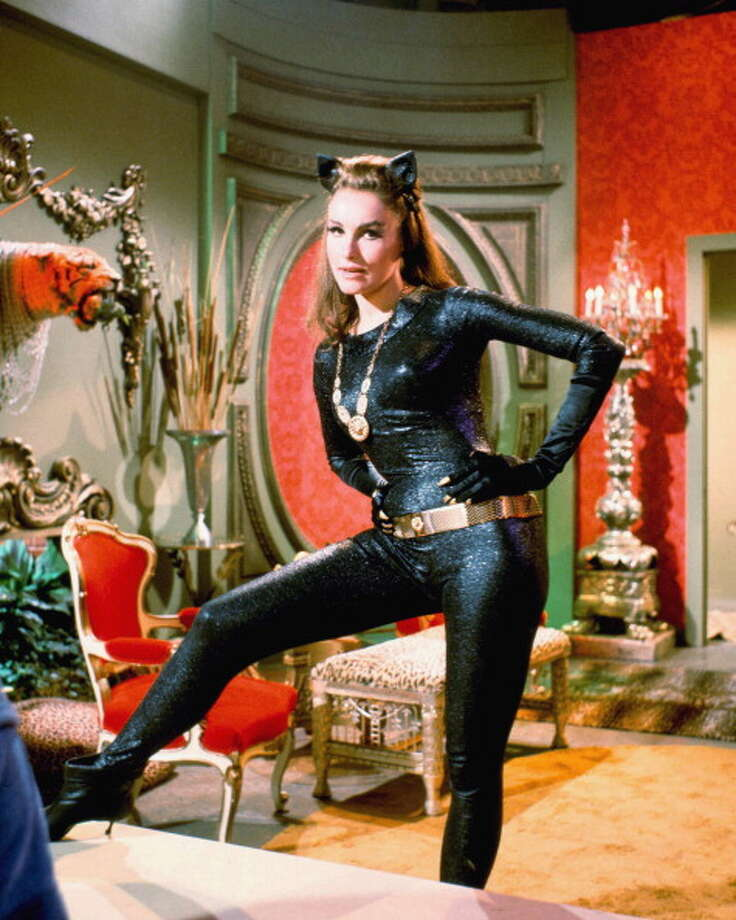 Julie Newmar in the 1960's 'Batman' TV series. (Getty Images) Photo: Silver Screen Collection, Getty Images / 2011 Silver Screen Collection