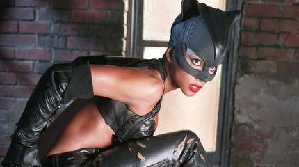 Halle Berry in Warner Bros. Pictures' 'Catwoman.' Sad, really. (Express-News file photo)