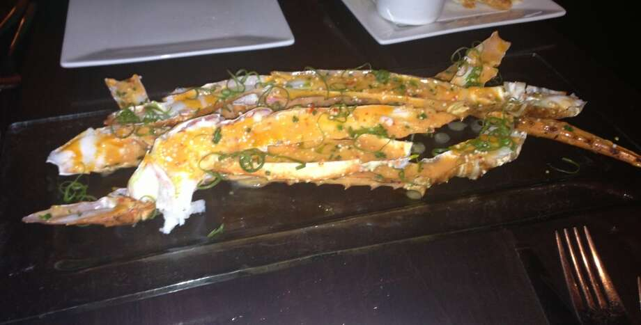 King crab legs at 5A5 Steak Lounge