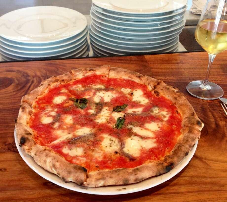Romano pizza at Farina Pizza