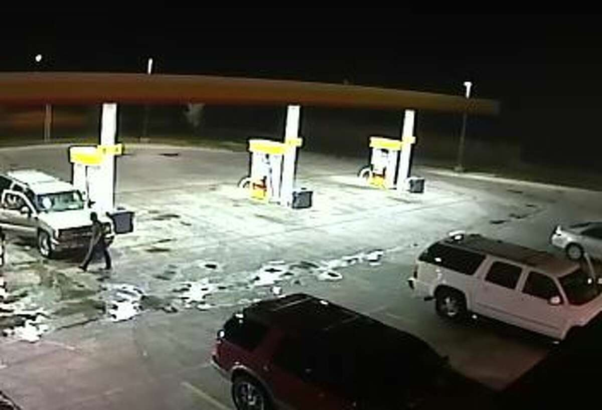 Police are looking for a gold Chevrolet Suburban occupied by three men who sexually assaulted a woman at a Southwest Side convenience store on Aug. 11, 2013.