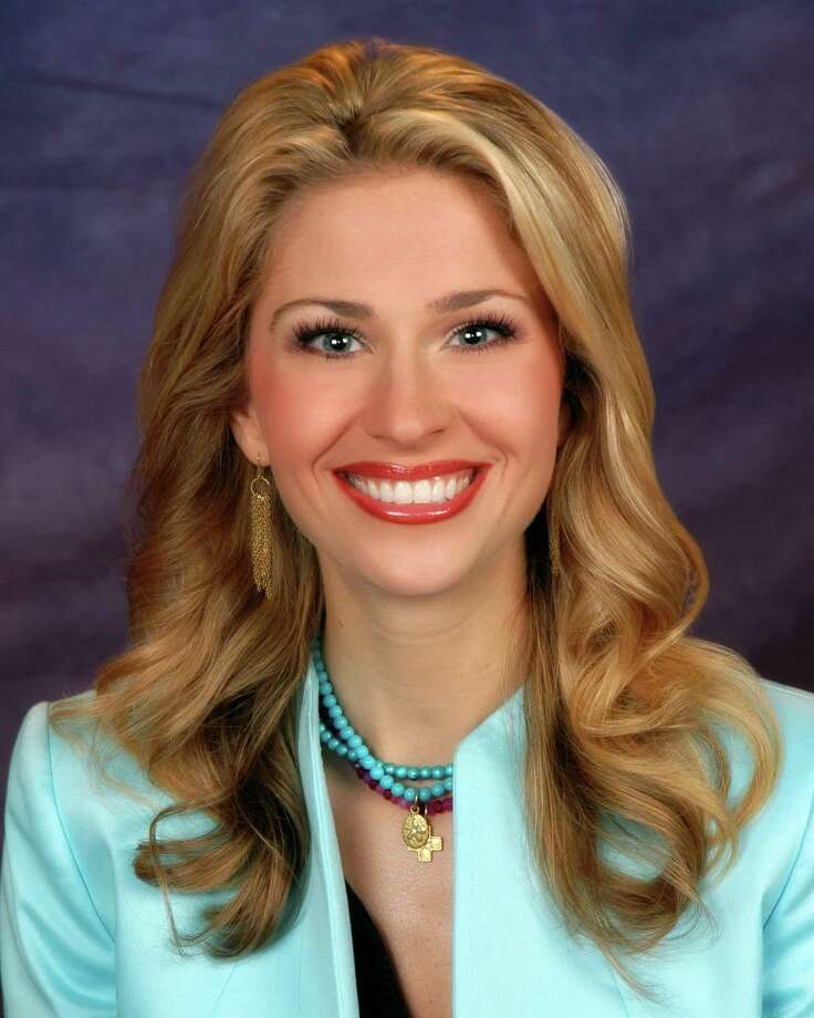 KPRC 2 morning anchor Lauren Freeman delivered her third child in August. Photo: KPRC / handout email