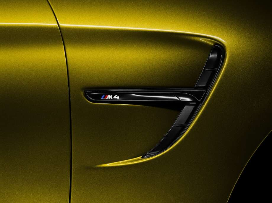 BMW showed off its new M4 coupe concept today.