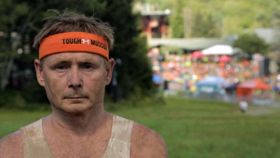 Milford resident Jeff Robyler, a former Marine, recently competed in the Tough Mudder event in Vermont where he helped raise money for the Wounded Warriors Project. Photo: Contributed Photo