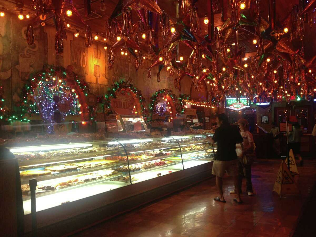 The broad selection of pastries at Mi Tierra, where The Mexican Elvis is known to hang out, would surely appeal to The King.