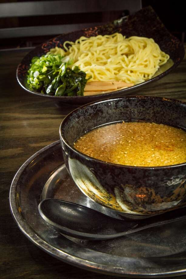 The Tsukemen Dipping Noodles ($12) at Orenchi Ramen in Santa Clara. Photo: John Storey, Special To The Chronicle