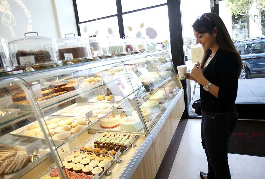 Maya Wolpert visits SusieCakes on a TaskRabbit job in San Francisco last year. TaskRabbit has hired Braintree to handle its money transmissions. Photo: Sarah Rice, Special To The Chronicle