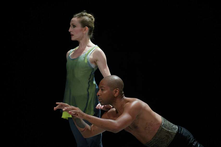 Wendy Whelan and Kyle Abraham of Restless Creature; photo Christopher Duggan, courtesy of Jacob's Pillow Dance / 2013 CHRISTOPHER DUGGAN