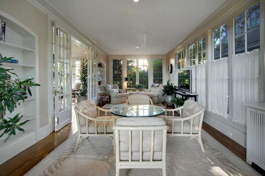 Sun room of 939 Federal Ave. E. It's listed for $2.7 million. Photo: Courtesy Ann Dover, Cliff Tanner, Windermere Real Estate