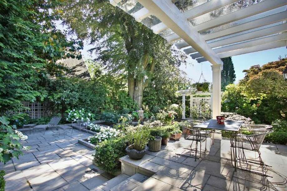 Patio of 939 Federal Ave. E. It's listed for $2.7 million. Photo: Courtesy Ann Dover, Cliff Tanner, Windermere Real Estate