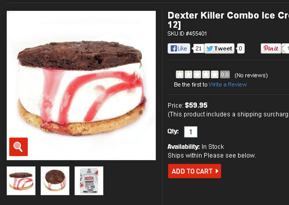 Dexter's ice cream sandwiches,.