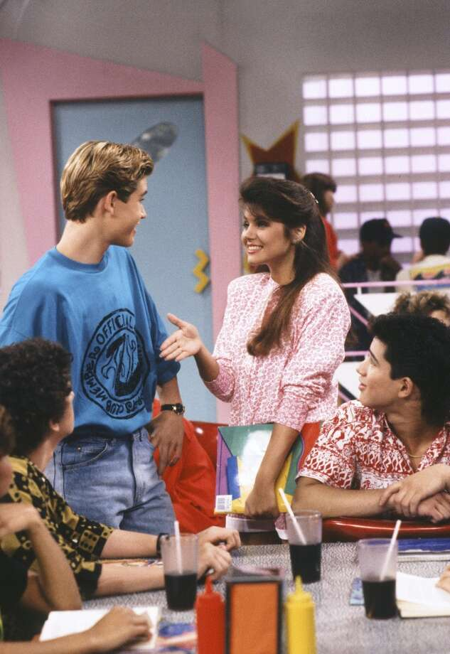 A 'Saved by the Bell' DVD that comes with a free 'Beef Cakes' lunch box. Photo: NBC, NBC Via Getty Images