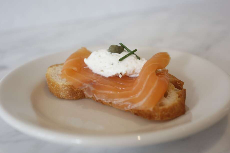 The Salmone Affumicato. Photo: Ian C. Bates, The Chronicle