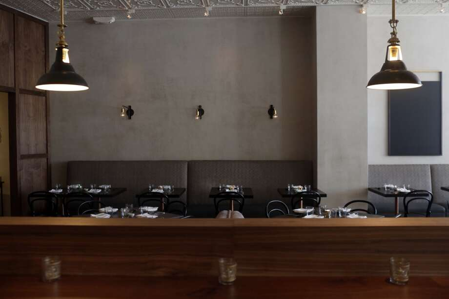 The dining room at Pesce's new location on Market Street in San Francisco. Photo: Ian C. Bates, The Chronicle