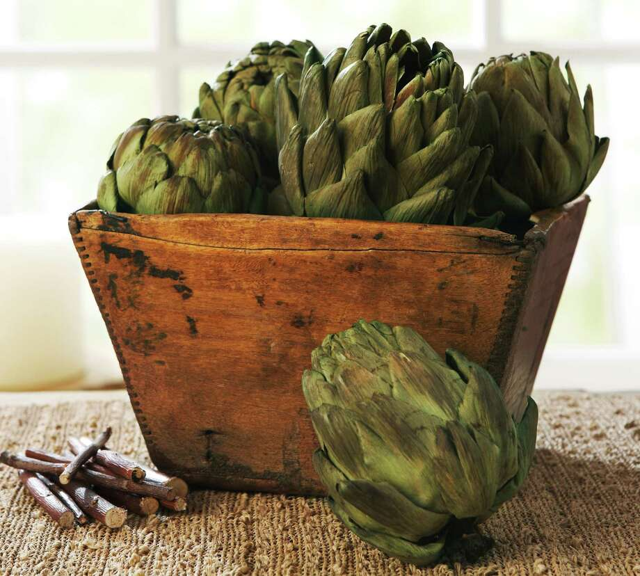 Artichokes, as well as celery and parsley, are loaded with a cancer-fighting element called apigenin. Photo: HOEP / Pottery Barn