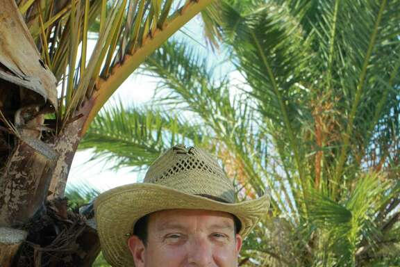 Bill Burhans has had a lifelong passion for palm trees.