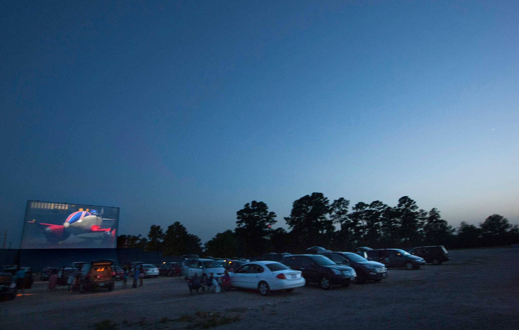 A night at the drive-in picture show