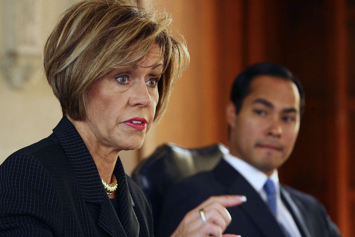 City Manager Sheryl Sculley and Mayor Julián Castro today are dealing with the effects of a 1988 police contract.