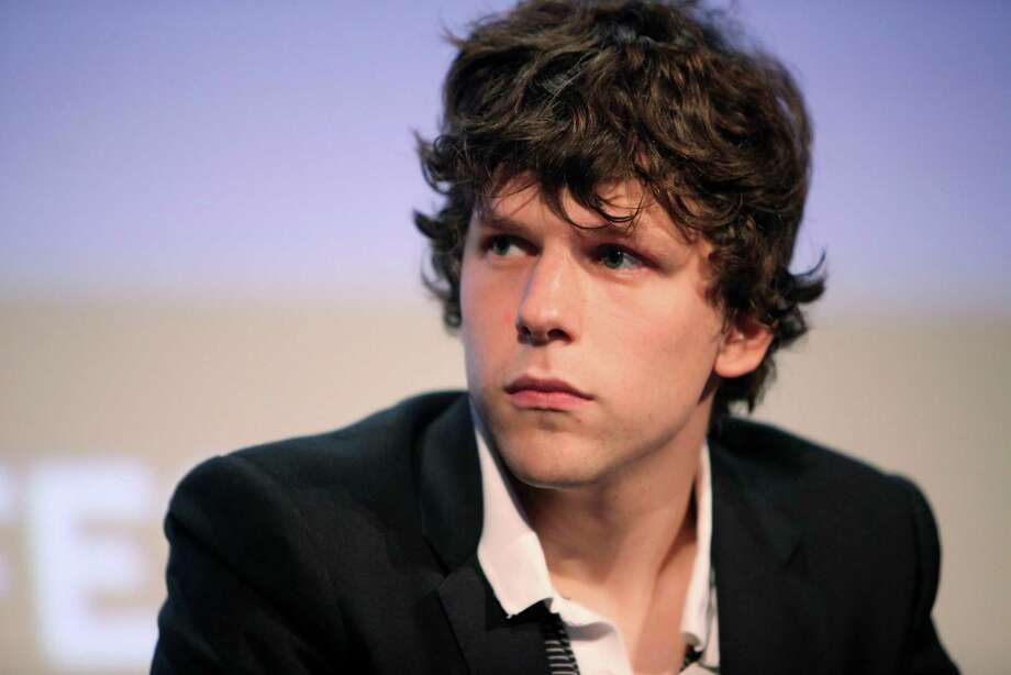 "Jesse Eisenberg played Facebook founder Mark Zuckerberg in Oscar-nominated ""The Social Network"". Photo: Amy Sussman, Getty Images  / Getty Images North America"