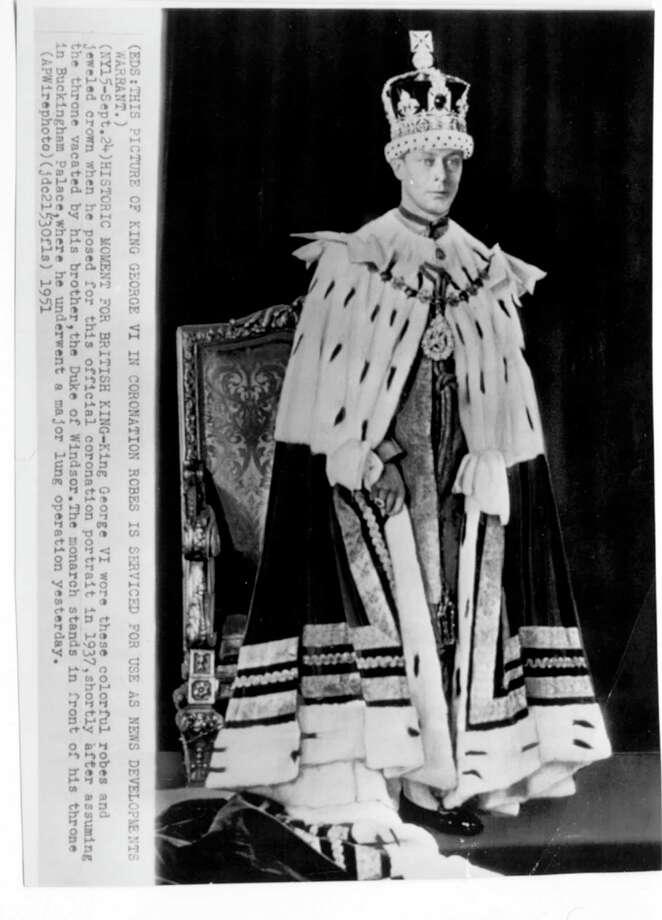 King George VI Photo: AP / handout/file photo