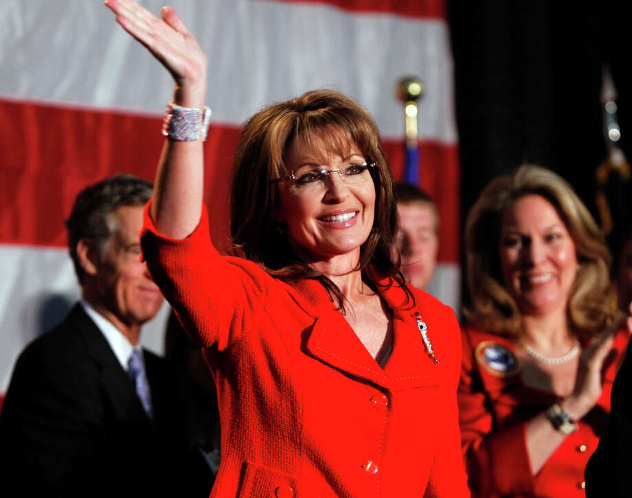 Former Alaska governor and vice presidential candidate Sarah Palin Photo: Ed Andrieski, Associated Press / AP