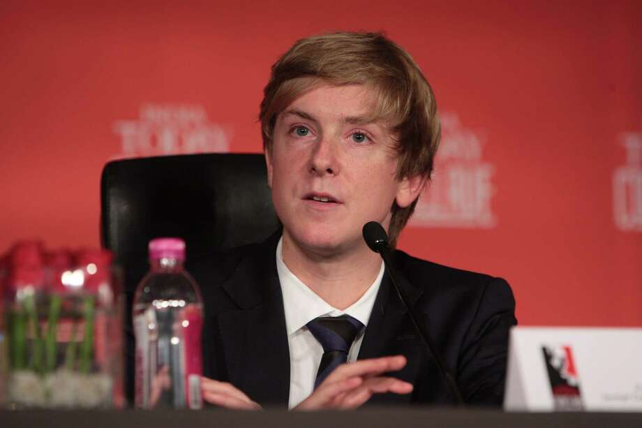The real Chris Hughes speaks at the India Today Conclave in 2010. Photo: The India Today Group, India Today Group/Getty Images / Living Media India Limited