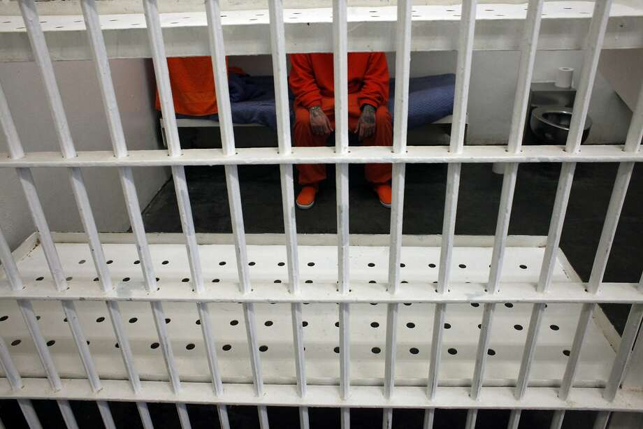 S.F.'s jail population has dropped because of city policies and a decrease in drug arrests, a report by the Board of Supervisors' budget analyst says. Photo: Lacy Atkins, The Chronicle