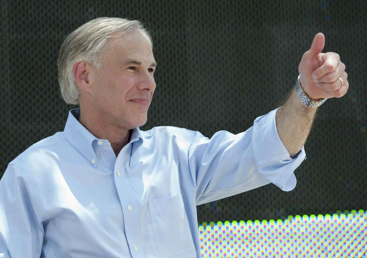 Texas Attorney General Greg Abbott speaks during an event to announce his 2014 campaign for governor. Like most Latinos, Abbott knows the way for America to remain great is to follow the Constitution.