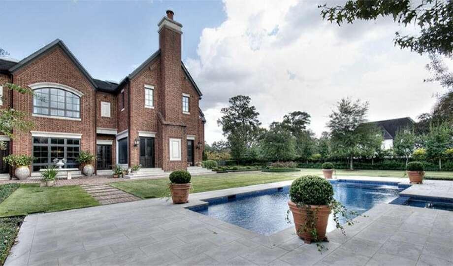 Houston attorney Tony Buzbee bought this River Oaks estate. The asking price was $14 million.
