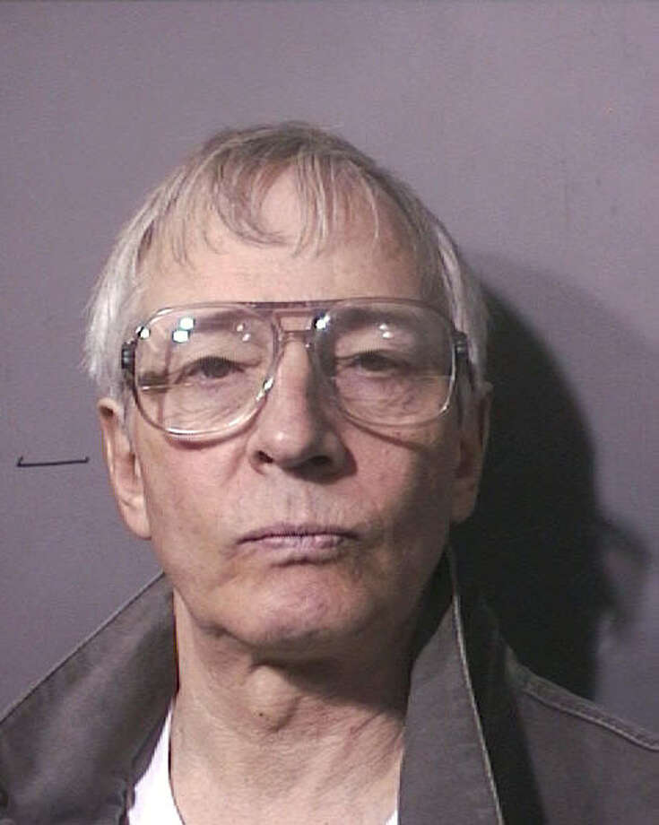 Robert Durst booking photo  courtesy Harris County Sheriff's Office  emailed photo     HOUCHRON CAPTION (12/21/2005) SECNEWS:  DURST Photo: Harris County Sheriff's Office / handout email