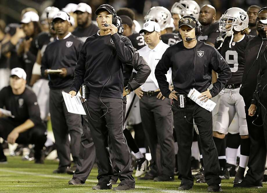 Dennis Allen had a chance to match wits against his mentor, Sean Payton, on Friday night. Photo: Ben Margot, Associated Press