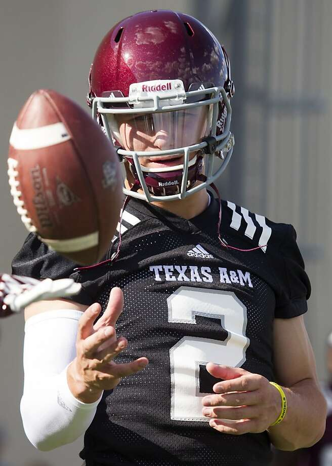 Texas A&M QB Johnny Manziel is under investigation by the NCAA. Photo: Patric Schneider, Associated Press