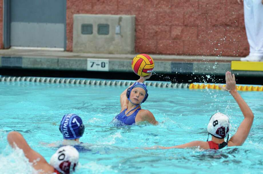 Greenwich YMCA's Meredith Karle helped lead the 14U team to a seventh place finish at the Junior Olympics in Orange County, Calif. August 2013. Photo: Contributed Photo