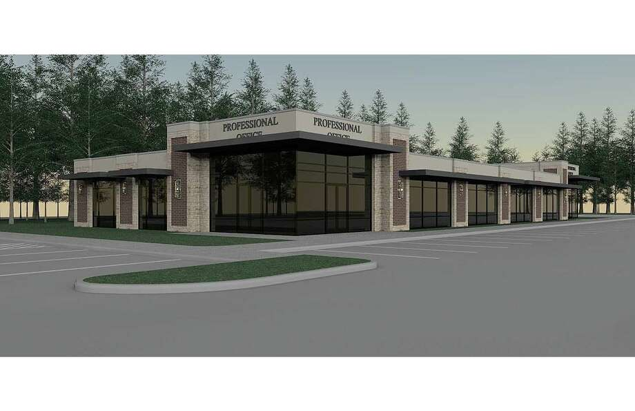 An artist's rendering shows The Preserve Professional Plaza. Photo: Provided By J. Beard Real Estate Company